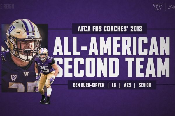 Ben Burr-Kirven Named To AFCA All-America Second Team
