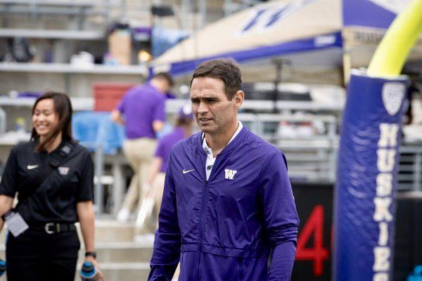 Wide Receivers Coach Matt Lubick Leaves Washington