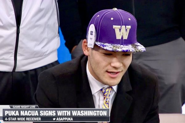 BREAKING: Four-Star Wide Receiver Puka Nacua Signs With Washington