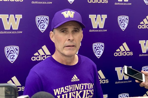 Post Practice Interviews Headlining Chris Petersen